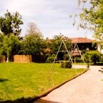 le jardin et les jeux